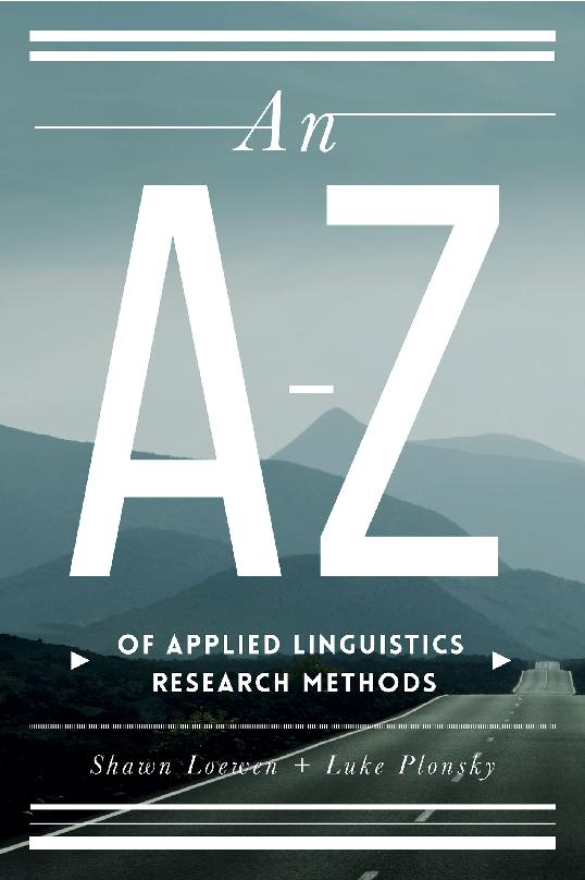 An A – Z of Applied linguistics Research Methods